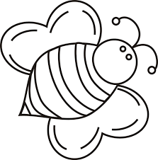 Bumble Bee Coloring Book