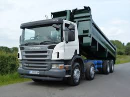 Scania P340 8 X 4 Steel Body Tipper