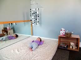 montessori bett idee vorteile moderne kinderzimmer designs