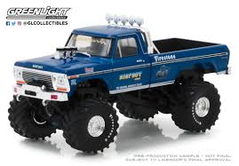 GreenLight 1/43 Bigfoot #1 The Original Monster Truck (1979) - 1974 ...