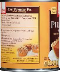 Libby Pumpkin Muffins by Libby Easy Pumpkin Pie Mix 30 Oz