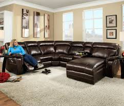 Wall Saver Reclining Couch by Loveseat Corinthian 862 Sectional Sofa With 5 Seats 2 Are Wall