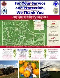 Denver Pumpkin Patch Corn Maze by Corn Maze Family Fun Oregon Dairy