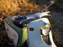 Fuji Rabbit Jr Motor Scooter Motorbike Vintage 4k Wallpaper And Background