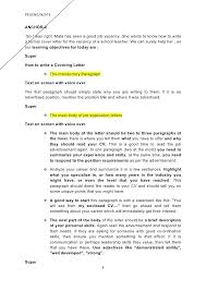How Many Sentences Per Paragraph In Cover Letter Cv Opening Fungram Latest Good