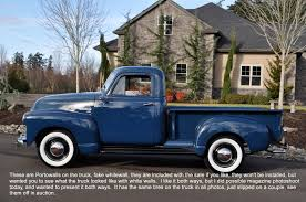 1951 Chevy 3100 1/2 Short Bed 216 Unitied States Air Force USAF ...