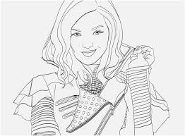 827x609 Descendants 2 Coloring Pages Capture The To Color For
