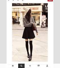 Winter Skater Skirt Outfits