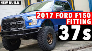 2017 Ford F150 On 37inch Tires! ECOBOOST! CHEAP LIFT! - YouTube