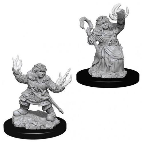 Wizkids Pathfinder Deep Cuts Miniatures: Dwarf Female Summoner
