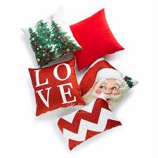 Red Decorative Lumbar Pillows by Popular Christmas Pillow Cases Buy Cheap Christmas Pillow Cases