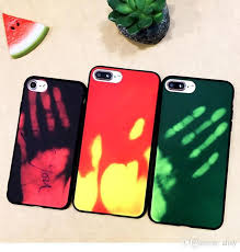 heat sensitive thermal iphone changes color with every touch