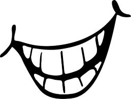 Cheesy girl smile clipart kid