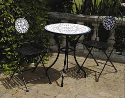Patio Tables And Chairs Metal : Outdoor Decorations ...