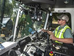 Waste Management Trains Garbage Truck Drivers To Keep Watch Along ...