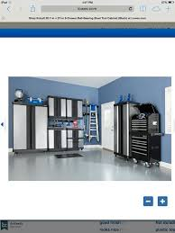 Kobalt Cabinets Extra Shelves by 19 Best Garage Images On Pinterest Lowes Steel Garage And