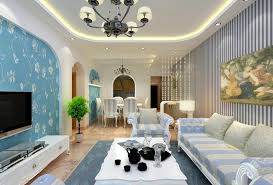 Lovely Living Rooms With Striped Walls 7 Room Interior