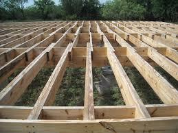 Floor Joist Spans For Decks by Deck Joists Radnor Decoration