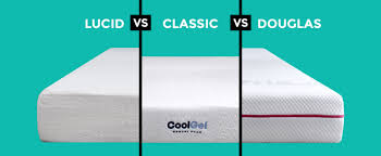 Lucid 10 Inch vs Classic Brands vs Douglas Mattress Review