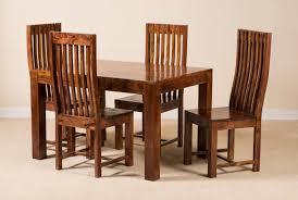 Mandir Sheesham 4-Seater Dining Set