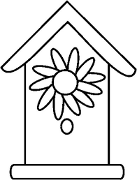 Birdhouse Coloring Pages Printable