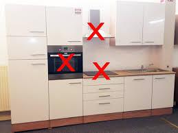 küchenblock laurel ohne geräte sonoma eiche hochglanz weiss neu