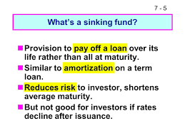 Sinking Fund Formula For Depreciation by 7 1 Lecture Nine Raising Capital Sources Of Long Term Financing