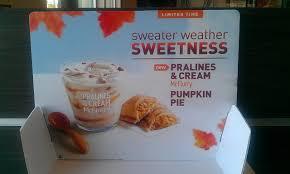 Dunkin Donuts Pumpkin Spice Latte Nutrition by News Mcdonald U0027s Fall 2013 Featured Menu Brand Eating