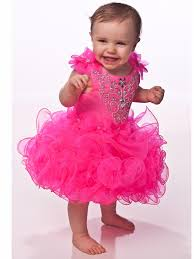 2016 new mini pink short cupcake girls pageant dresses cute
