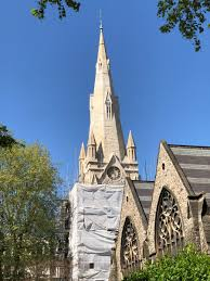 100 Kensington Church London DBR Limited On Twitter Scaffolding Continues To Be Struck On St