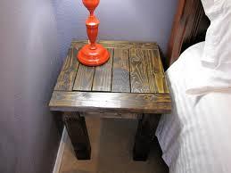 Dark Wood Nightstand Colorful Nightstands Rustic Wall Mounted