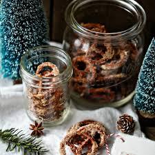 gebrannte zucker zimt brezeln candied pretzels