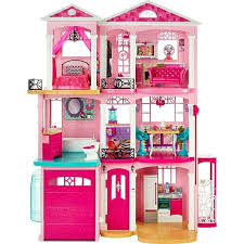 Contemporary Photo Also Large Wooden Dollhouse Fits Barbie Doll