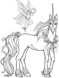 Fairy Unicorn Coloring Pages And For Adults Download X 5 A