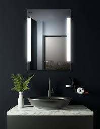hoko led bad spiegel beleuchtet mit digital uhr dortmund 60x80cm led bad spiegel energieklasse a weee reg nr de 40647673