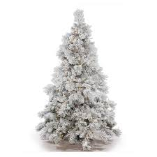 Snow Flocking For Christmas Trees by Vickerman Flocked Alberta Pre Lit Christmas Tree Hayneedle