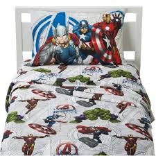 4 Piece Full Avengers Earths Mightiest Superhero Sheet Set
