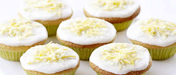 Frosted Lemon Fairy Cakes