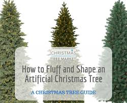 CTM How To Fluff Header Photo Fluffing Your Artificial Christmas Trees