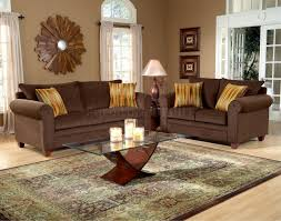 Brown Leather Couch Living Room Ideas by Chocolate Brown Sofa Living Room Ideas Dorancoins Com