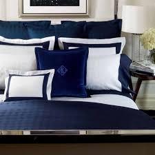Lauren Suite Glen Plaid Navy Bedding by Lauren Ralph Lauren