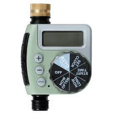 Orbit Hose Faucet Timer by Orbit 1 Port Single Dial Timer 62056 The Home Depot