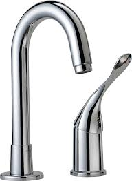 Commercial Kitchen Faucets Amazon by Delta Commercial 710lf Hdf Single Handle Bar Prep Faucet Chrome