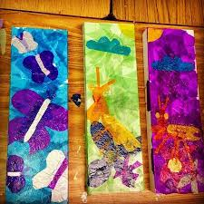Tissue Paper Collage Art Projects For Kids