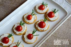 easy cheap canapes simple tomato rosemary canapés a few shortcuts