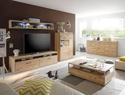 wohnzimmer esma 35 eiche bianco 5 teilig wohnwand beleuchtung expendio