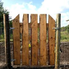 First Of For Your Security Made A Wooden Pallet Gate Garden We Come Here With Amazing