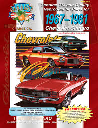 100 Chevy Truck Parts Catalog Free Camaro 13 Cat By Car Shop Issuu