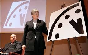 The Bulletin Of Atomic Scientists Last Year Updated Doomsday Clock To Read Three Minutes