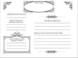 Diy Wedding Guestbook Templates